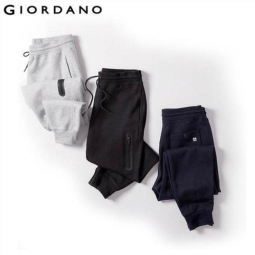 Giordano signature black sweatpants