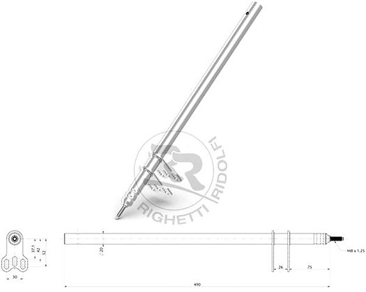 Steering column Rigetti Ridolfi/PCR