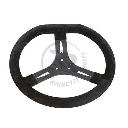 340mm suede steering wheel