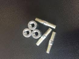 wheel stud and locking nut set.