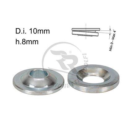Stub axle height adjuster spherical 10mm x 8mm
