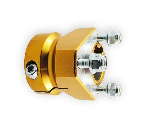 30mm x 63mm rear hub
