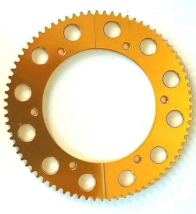 78T 219p Split sprocket