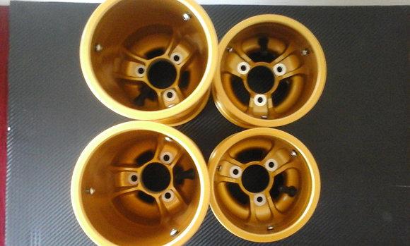 GT Magnesium wheel set Gold