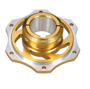 Sprocket carrier, Gold 30mm