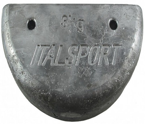 3kg lead weight