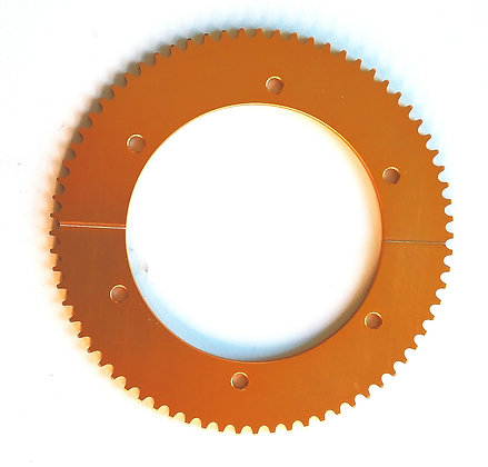 72T 219 split sprocket