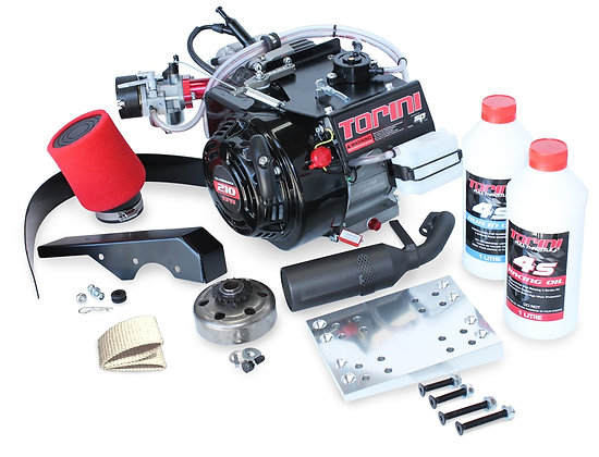 Torini Clubmaxx 210 complete kit with oils.