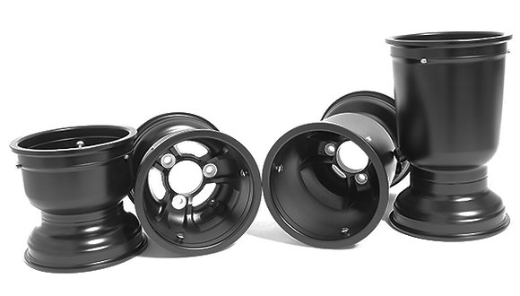 GT Magnesium wheel set black