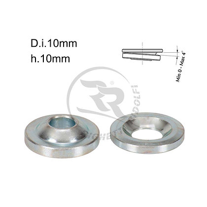 Stub axle height adjuster spherical 10mm x 10mm