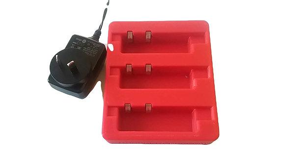 Triple transponder charger