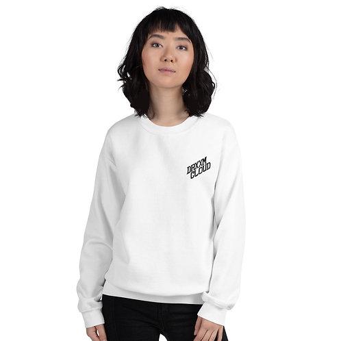 DrxxmCloud Unisex Sweatshirt (Black Logo)