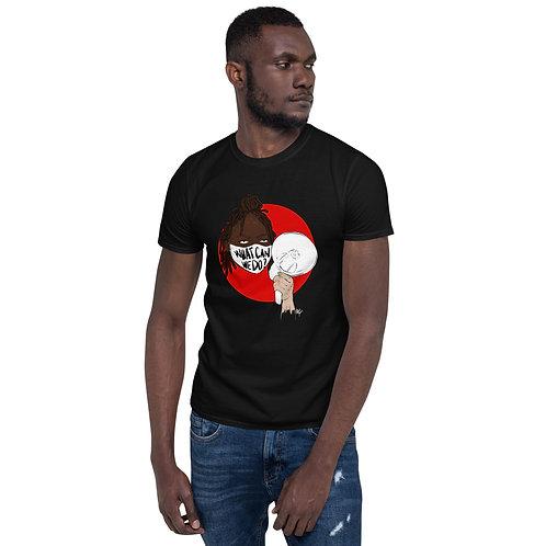#WhatCanWeDo Donations T-Shirt (Black)