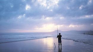 サンセット釣り