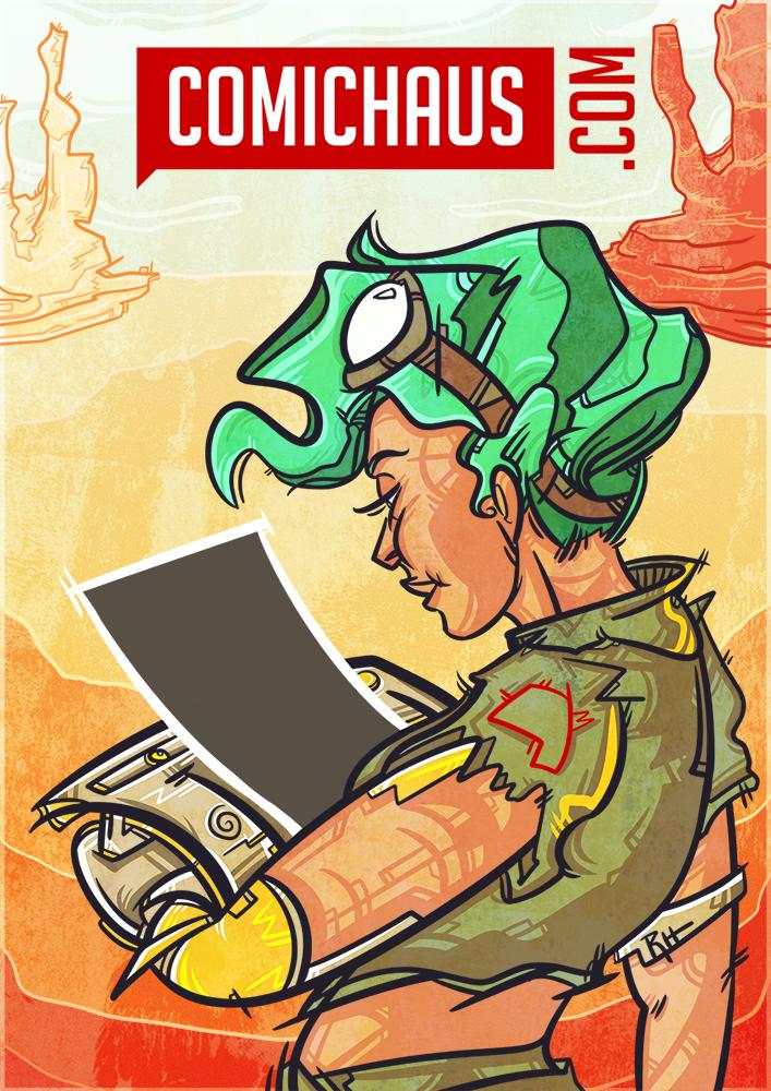 Comichaus Poster
