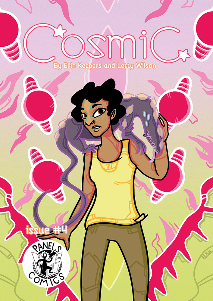 Cosmic #4 Cover