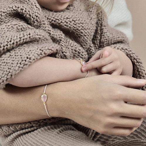 Ilado Duo de Bracelets Mère Fille Cœur à Cœur