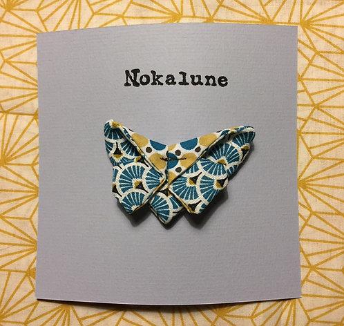 Barrette moyen format géométrique Nokalune