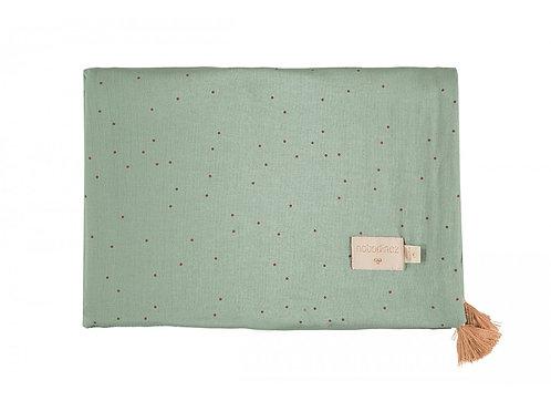 Nobodinoz couverture d'été Treasure sweet dots eden green