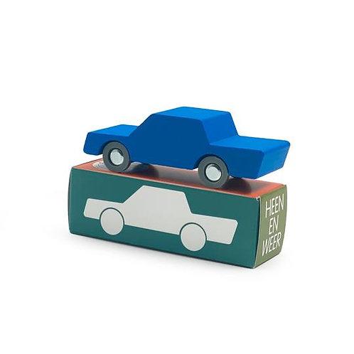 WaytoPlay petites voitures bois Bleu