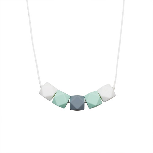 Minty Wendy Collier Mini Geometric Mint femme