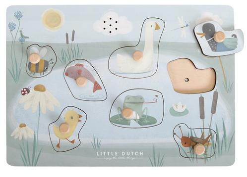 Little Dutch Puzzle Sonore des animaux