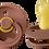 Thumbnail: Bibs Pack de 2 tétines Terracotta / Rose poudré