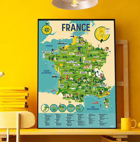 Poppik Poster en stickers France