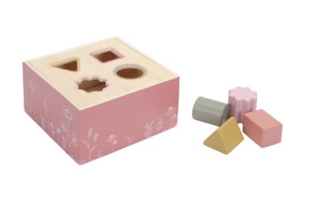 Little Dutch Boîte à formes Flowers Rose