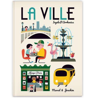 Marcel & Joachim Livre imagier géant La ville , Ingela P. Arrhenius