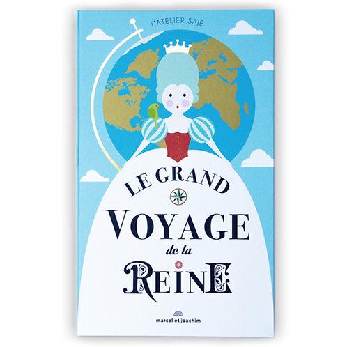 Marcel & Joachim Le grand Voyage de la Reine Livre Pop up Atelier Saje