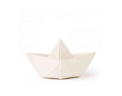 Oli et Carol Bateau Origami Blanc