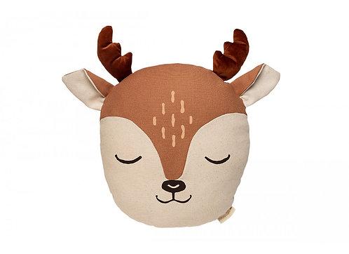 Nobodinoz Coussin Deer Daim Sienna Brown
