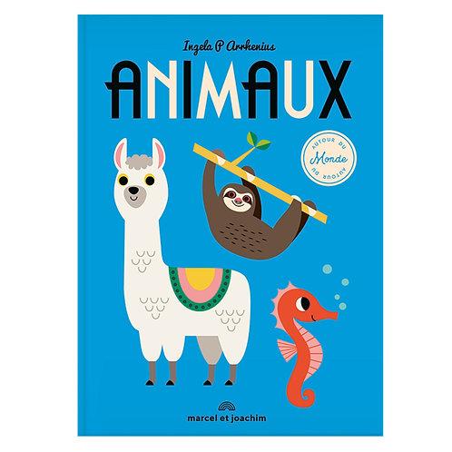 Marcel & Joachim Livre imagier géant Animaux autour du monde,Ingela P. Arrhenius