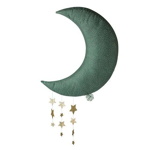 Picca Loulou Lune décoration bleue avec étoiles