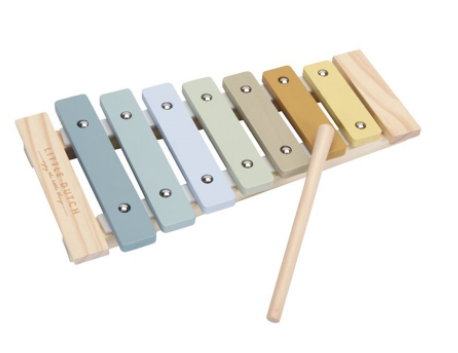 Little Dutch Xylophone en bois bleu