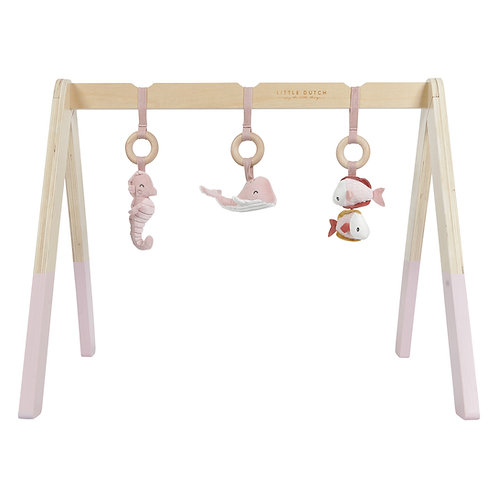 Little Dutch Arche de jeux en bois ocean Rose