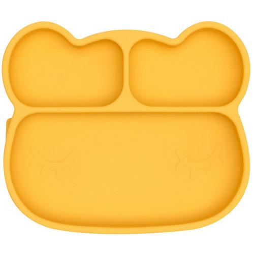 We might be Tiny Assiette à compartiments ours jaune