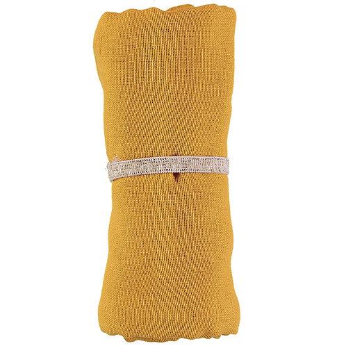 Lange bébé Nobodinoz Baby love Farniente Yellow Moutarde