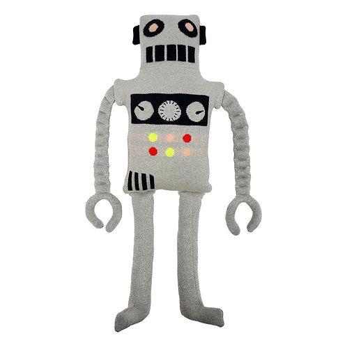 Meri Meri Coussin Doudou Robot en coton bio