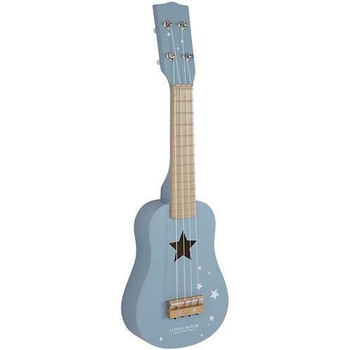 Little Dutch Guitare bleu