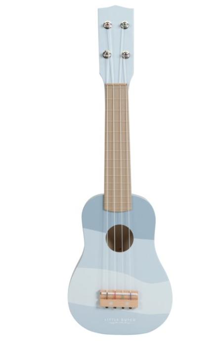 Little Dutch Guitare en bois bleu