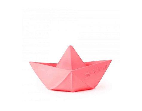 Oli et Carol Bateau Origami Rose