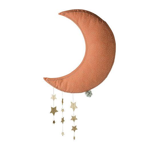 Picca Loulou Lune décoration rose avec étoiles