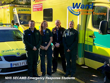 SECAMB Emergency Response Course Students