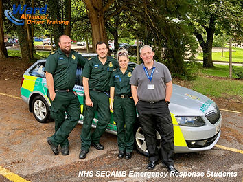 SECAMB Course Response Students
