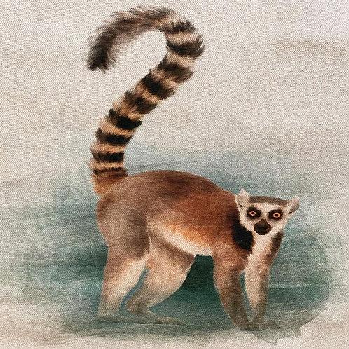 Lemur Linen Panel