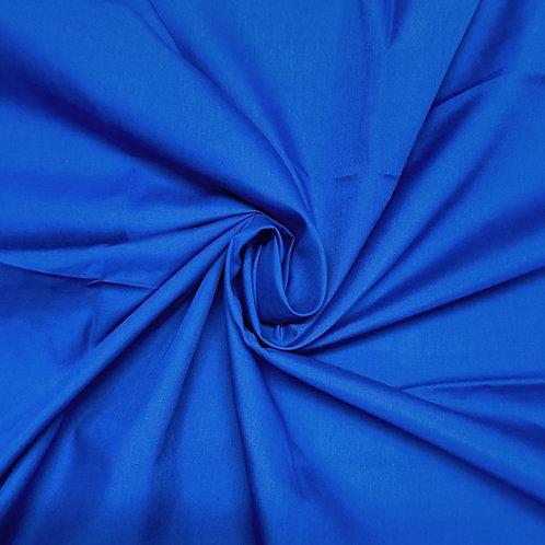 Plain Royal Blue Polycotton
