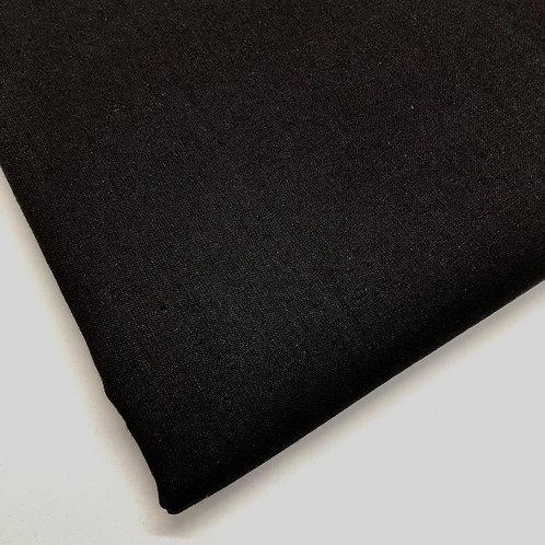 Plain Black Cotton