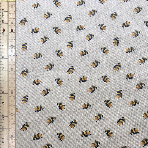 Bees Cotton Linen